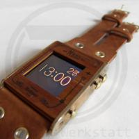 Steampunk nano watch is nice mixture of styles.