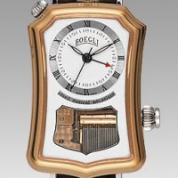 Boegli  Watch plays Mozart, Verdi or Vivaldi on the hour.