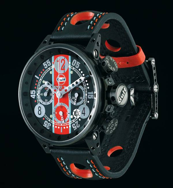 Brm Gulf Editions A Watch With Motor Racing Heritage