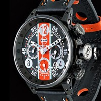 BRM Gulf editions. A watch with motor racing heritage.