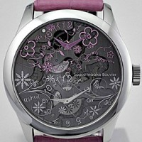 Saskia Maaike Bouvier. Whimsically decorated womens watch