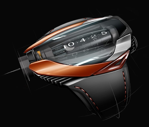 Ak Geneve Concept watch