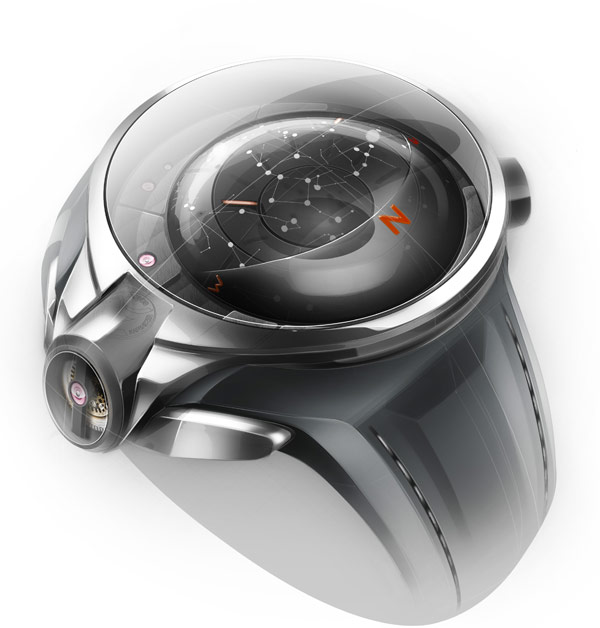 Thierry Fischer watch design